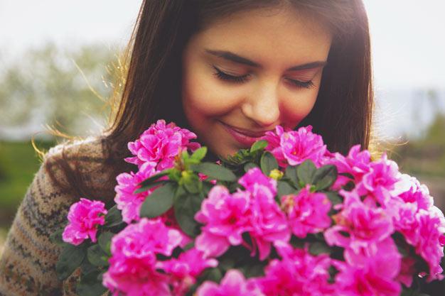 impacto flores estado de animo